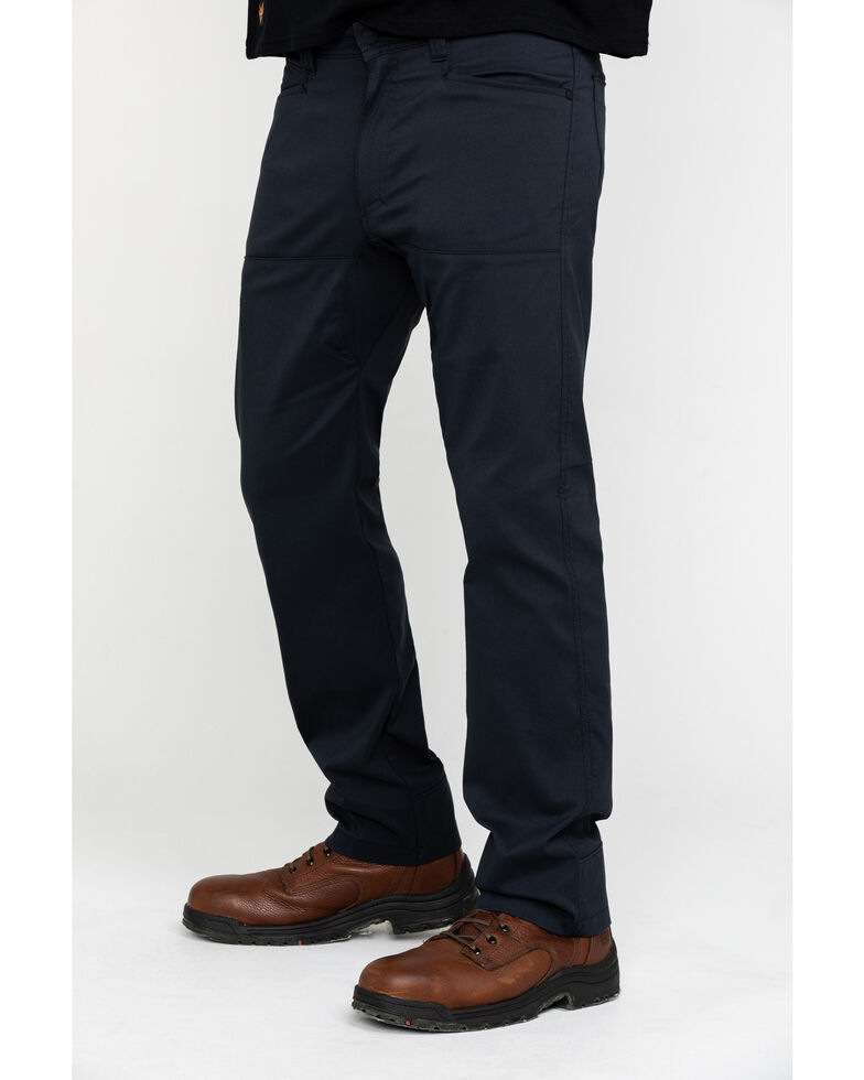 Wrangler All-Terrain Men's Caviar Synthetic Stretch Utility Pants , Black, hi-res