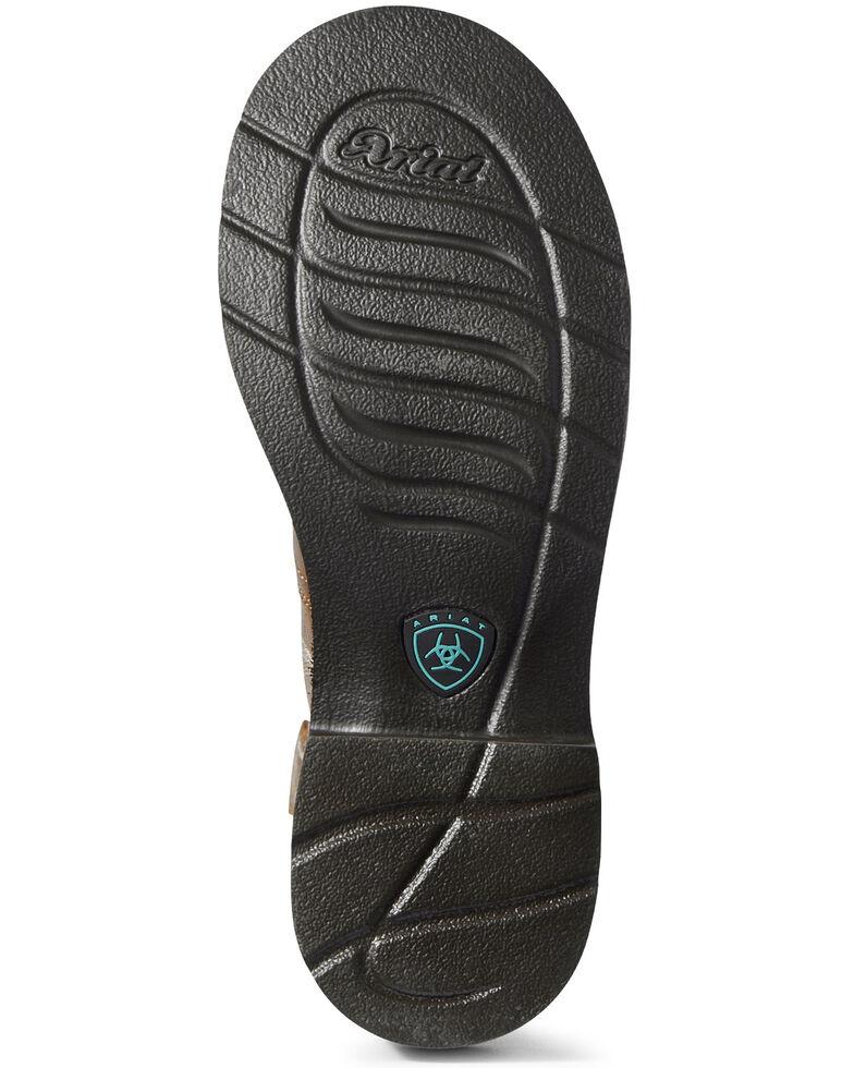 Ariat Women's Triad Heritage Western Boots - Round Toe, Brown, hi-res