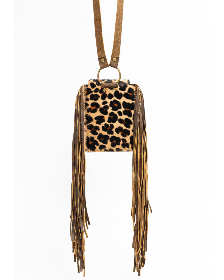 Keep It Gypsy Women's Leopard Crossbody Phone Purse, Leopard, hi-res