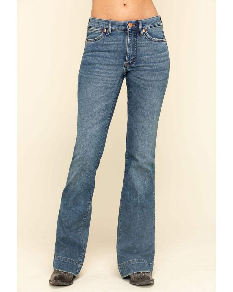 Wrangler retro Women's Vintage Medium Shelby Trouser Jeans , , hi-res