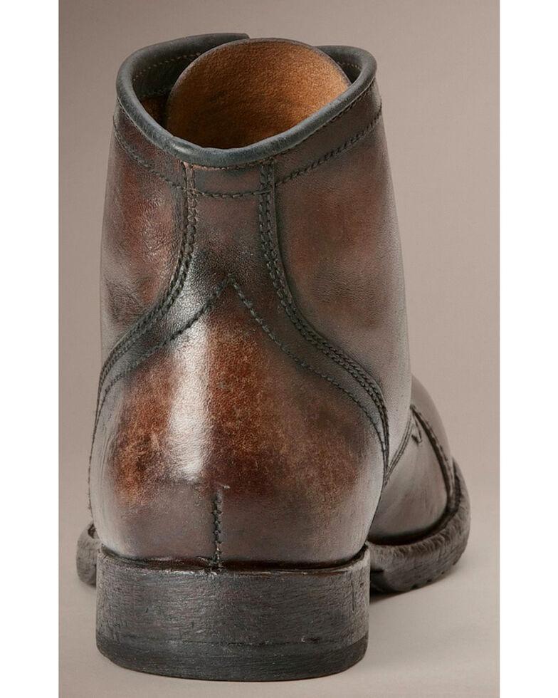 Frye Logan Cap Toe Lace-Up Boots, Dark Brown, hi-res