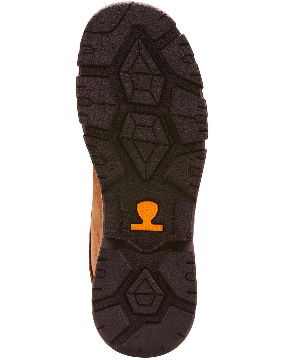 Ariat Men's Brown Edge LTE Moc Boots - Composite Toe , Dark Brown, hi-res