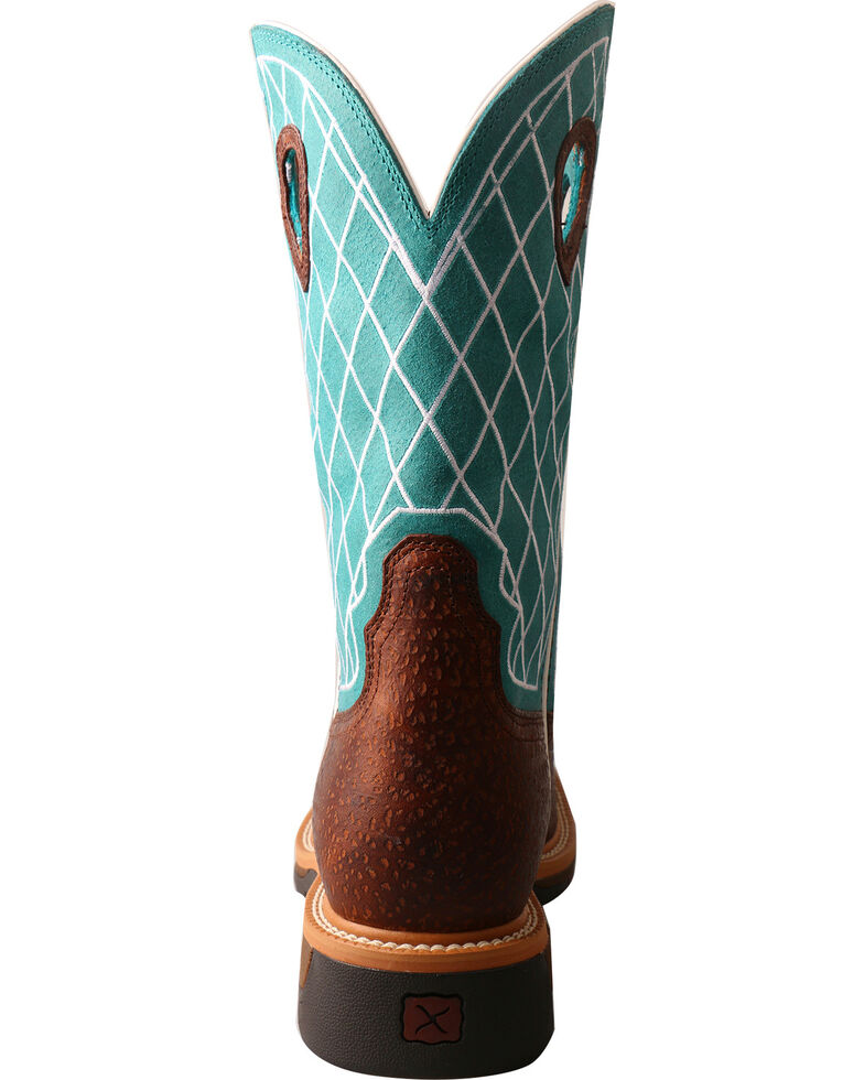 61dea4102e5 Twisted X Men's Lite Pattern Square Toe Western Work Boots