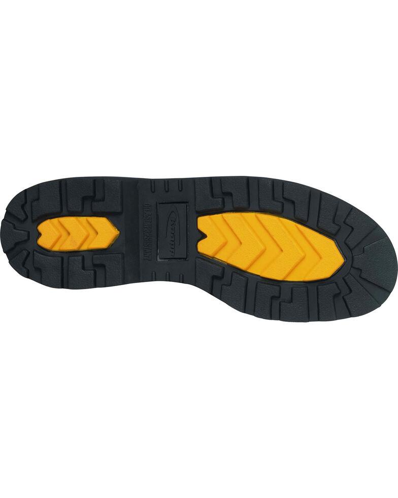 "Knapp Men's Backhoe 6"" Work Boots - Steel Toe, Black, hi-res"