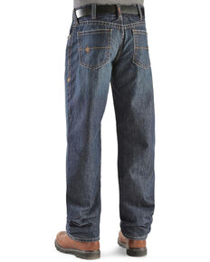 Ariat Men's Flame Resistant Loose Fit Shale Work Jeans - Big, Indigo, hi-res