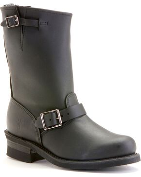 Frye Women's Engineer 12R Boots, Black, hi-res