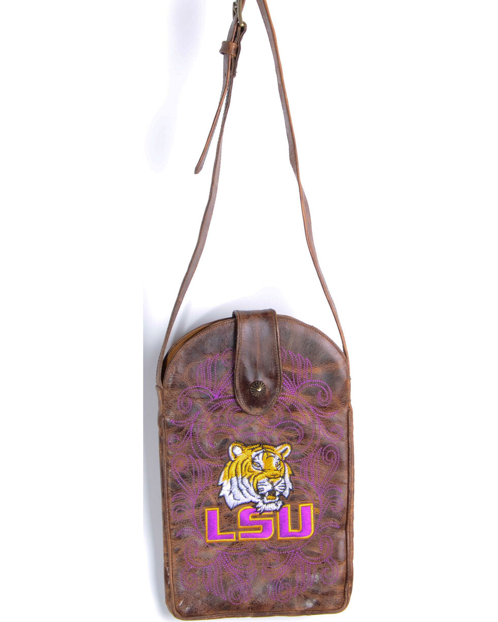 Gameday Boots Louisiana State University Crossbody Bag, , hi-res