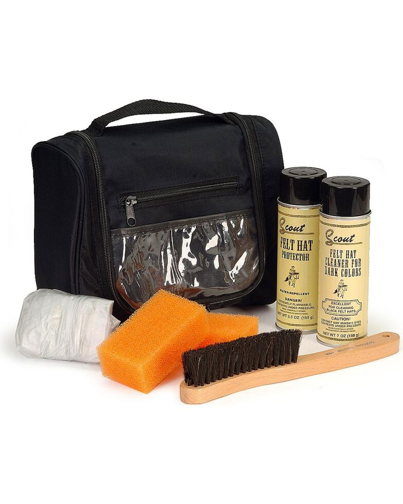 Hat Care Travel Kit, Black, hi-res