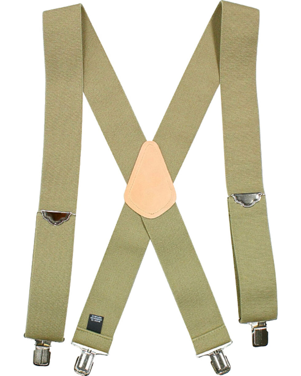 American Worker Men's Elastic Suspenders, , hi-res