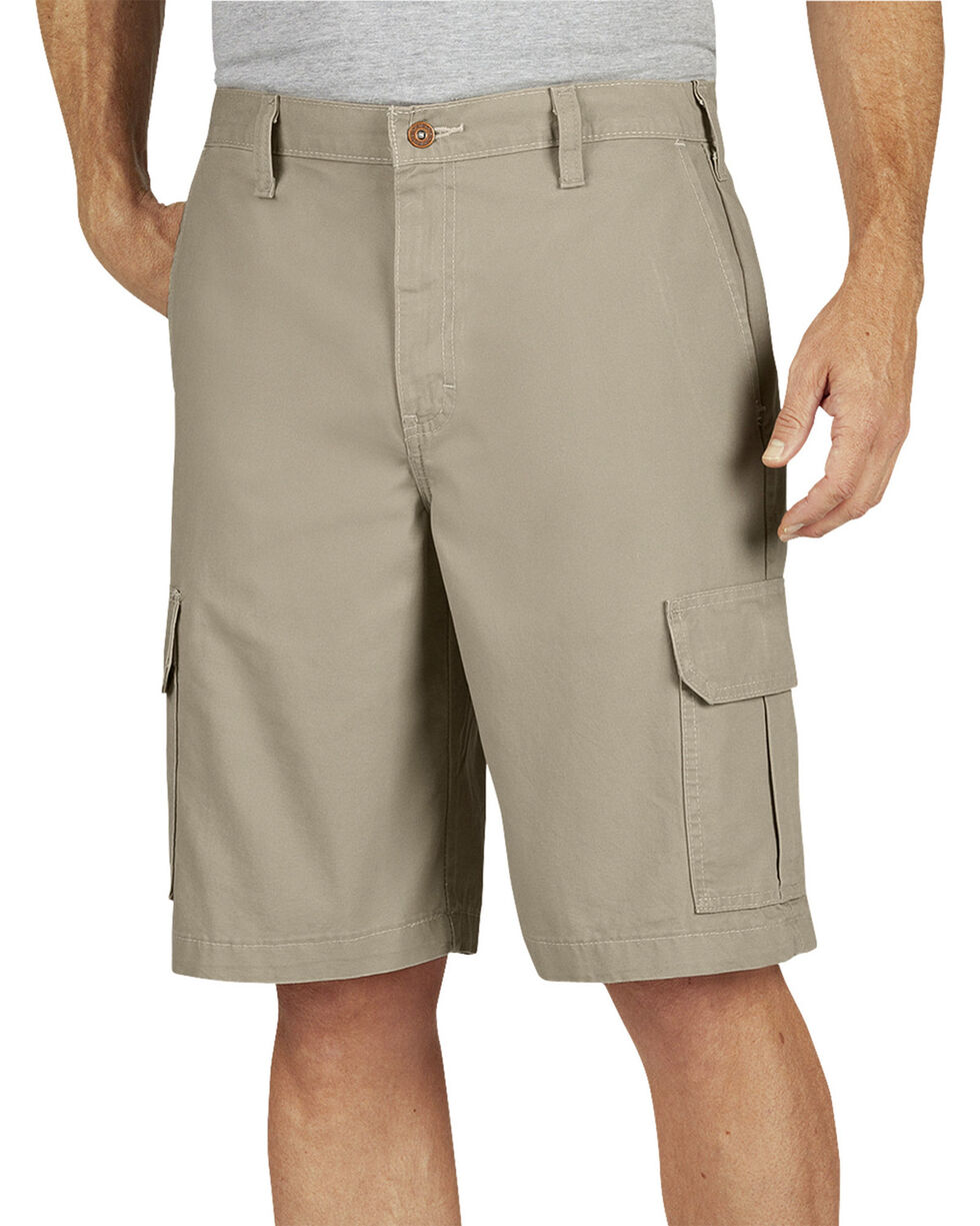 Dickies Relaxed Fit Duck Cargo Shorts, Sand, hi-res