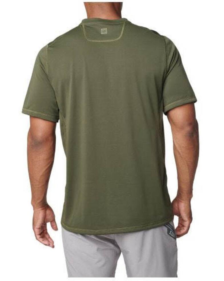 5.11 Tactical Men's Range Ready Short Sleeve Work T-Shirt , Moss Green, hi-res