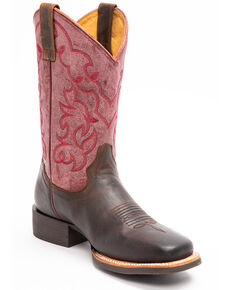 Shyanne Women's Mad Dog Western Boots - Square Toe, Brown, hi-res