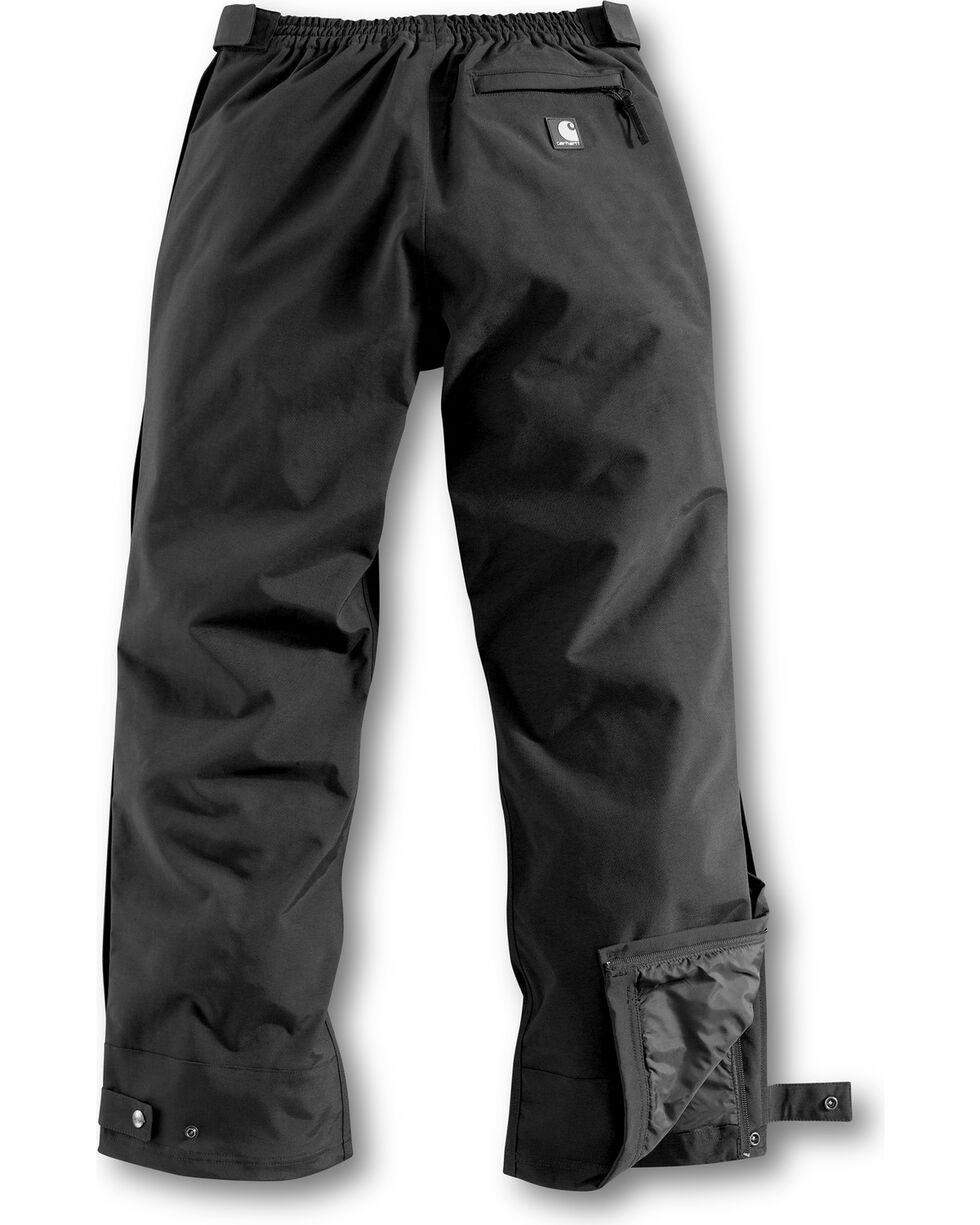 Carhartt Women's Waterproof Breathable Waist Overalls, Black, hi-res
