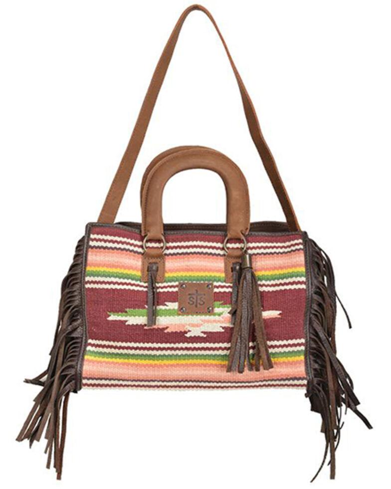 STS Ranchwear Women's Buffalo Girl Satchel Bag, Multi, hi-res
