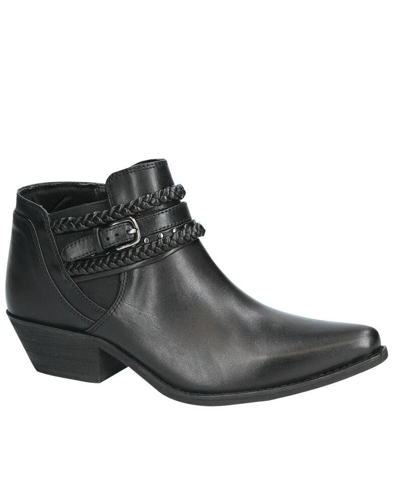 Smoky Mountain Women's Emma Fashion Booties - Snip Toe, Black, hi-res