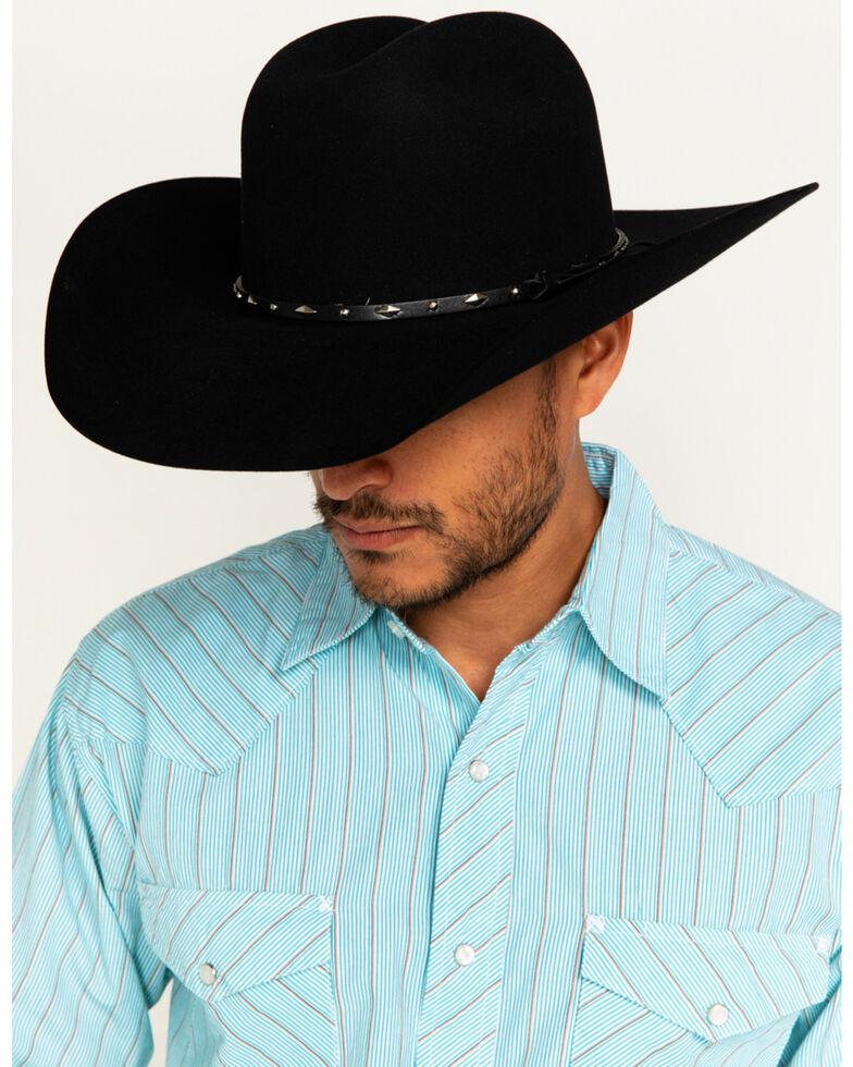 Cody James® Men's Colorado 3X Tycoon Wool Hat, Black, hi-res