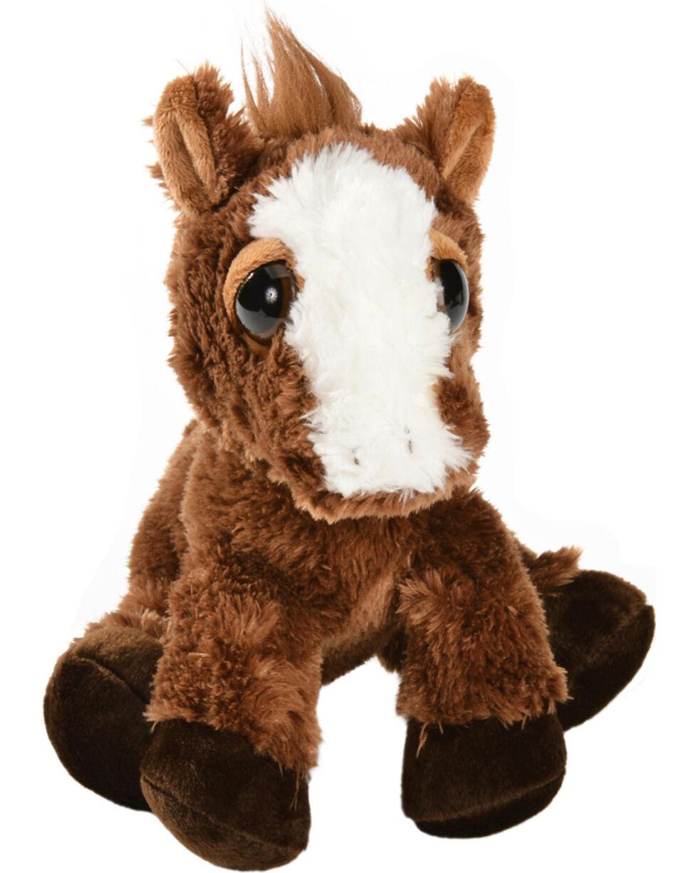 Aurora Dreamy Eyes Plush Pony, Brown, hi-res