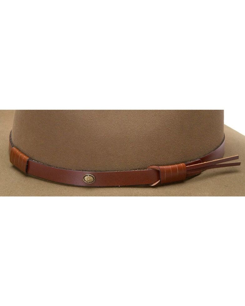 c143f1cc Zoomed Image Stetson 5X Catera Fur Felt Cowboy Hat, Bark, hi-res