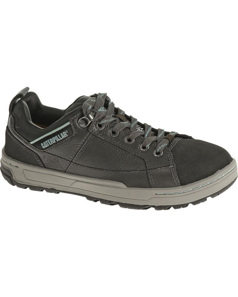 CAT Women's Brode Steel Toe Work Shoes, Dark Grey, hi-res