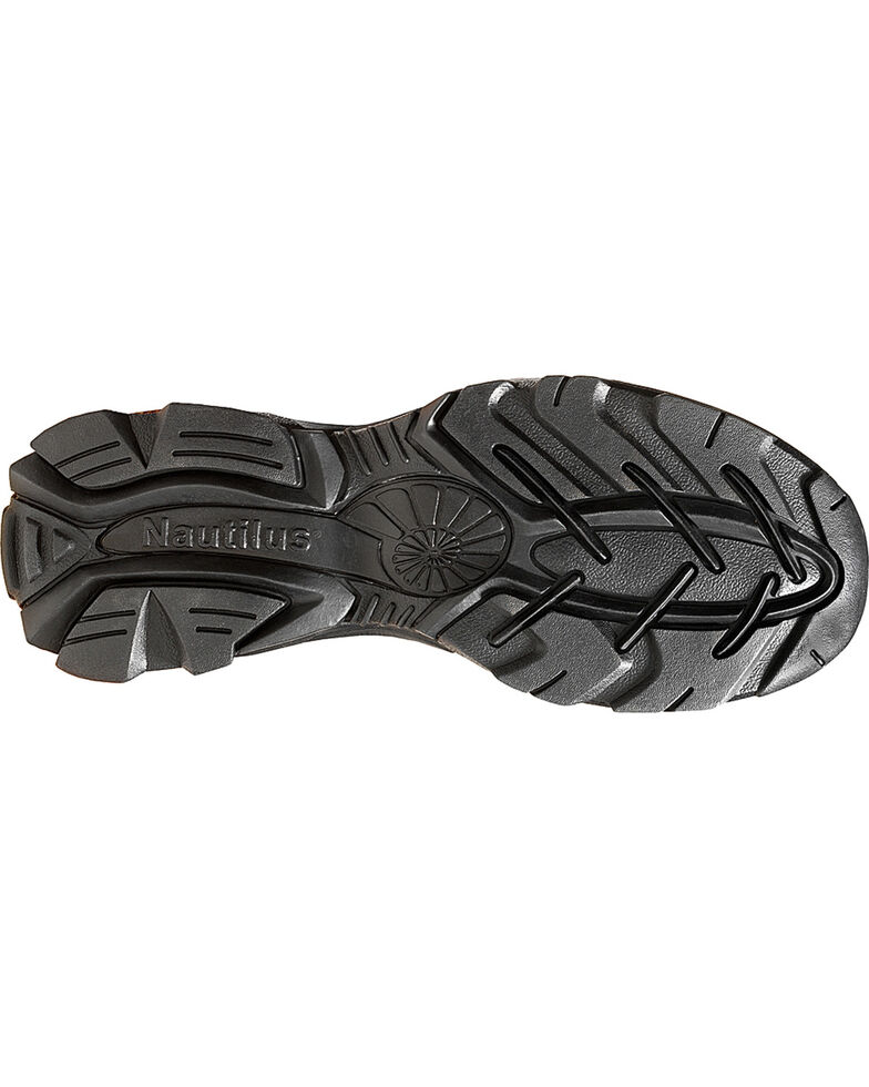 Nautilus Men's ESD Slip On Work Shoes, Brown, hi-res