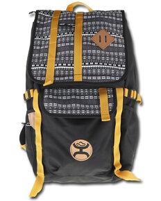 HOOey Men's Topper Black & Copper Hat Carrier Backpack, Black, hi-res