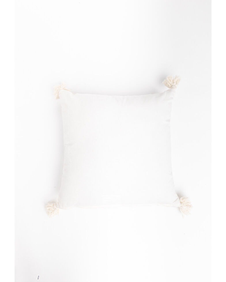 Boot Barn Ranch Wild & Free Pillow, White, hi-res