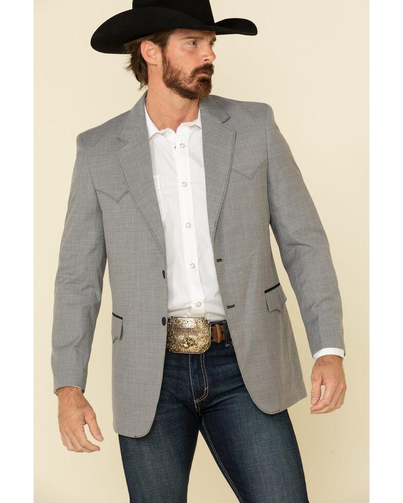 Circle S Men's Grey Lubbock Western Sportcoat - Big , Grey, hi-res