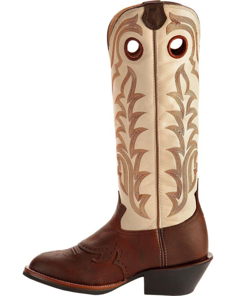 Tony Lama Men's 3R Maverick Buckaroo Western Boots, Sienna, hi-res