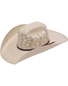 Twister 10X Shantung Straw Cowboy Hat, Natural, hi-res