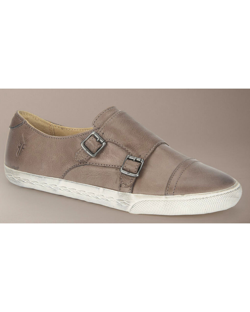 Frye Women's Mindy Monk Sneakers, Grey, hi-res