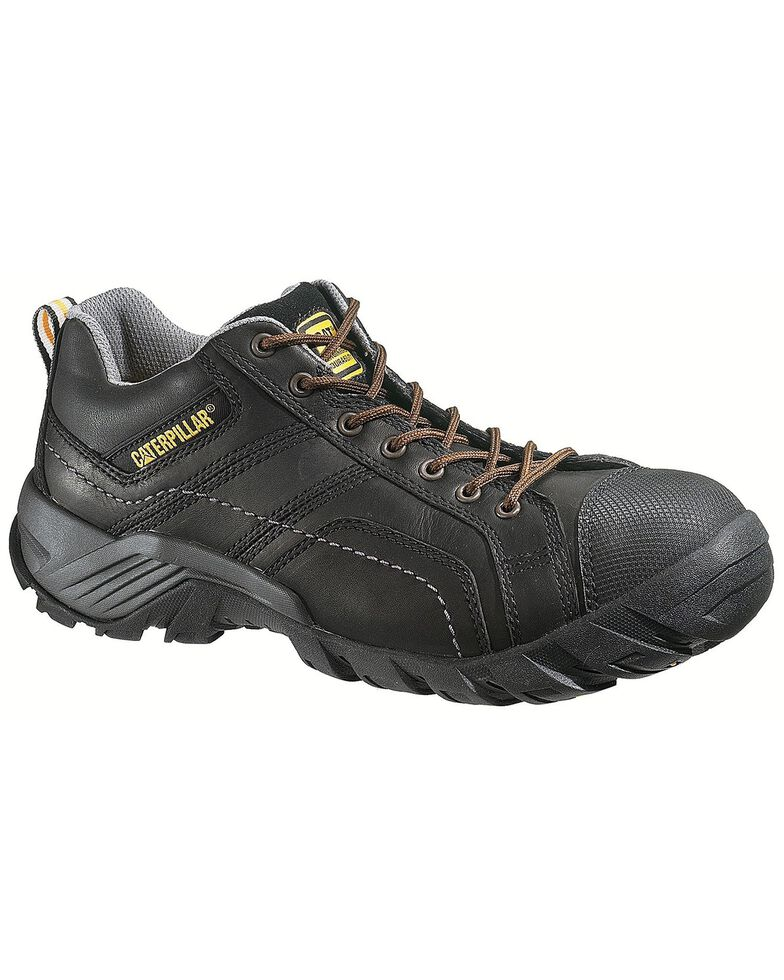 CAT Men's Composite Toe Argon Oxford Work Shoes, Black, hi-res