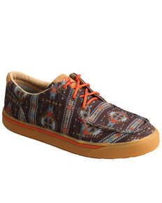 Twisted X Men's Hooey Loper Shoes - Moc Toe, Multi, hi-res