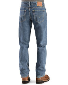 Levi's Men's 505 Straight Fit Jeans, Stonewash, hi-res