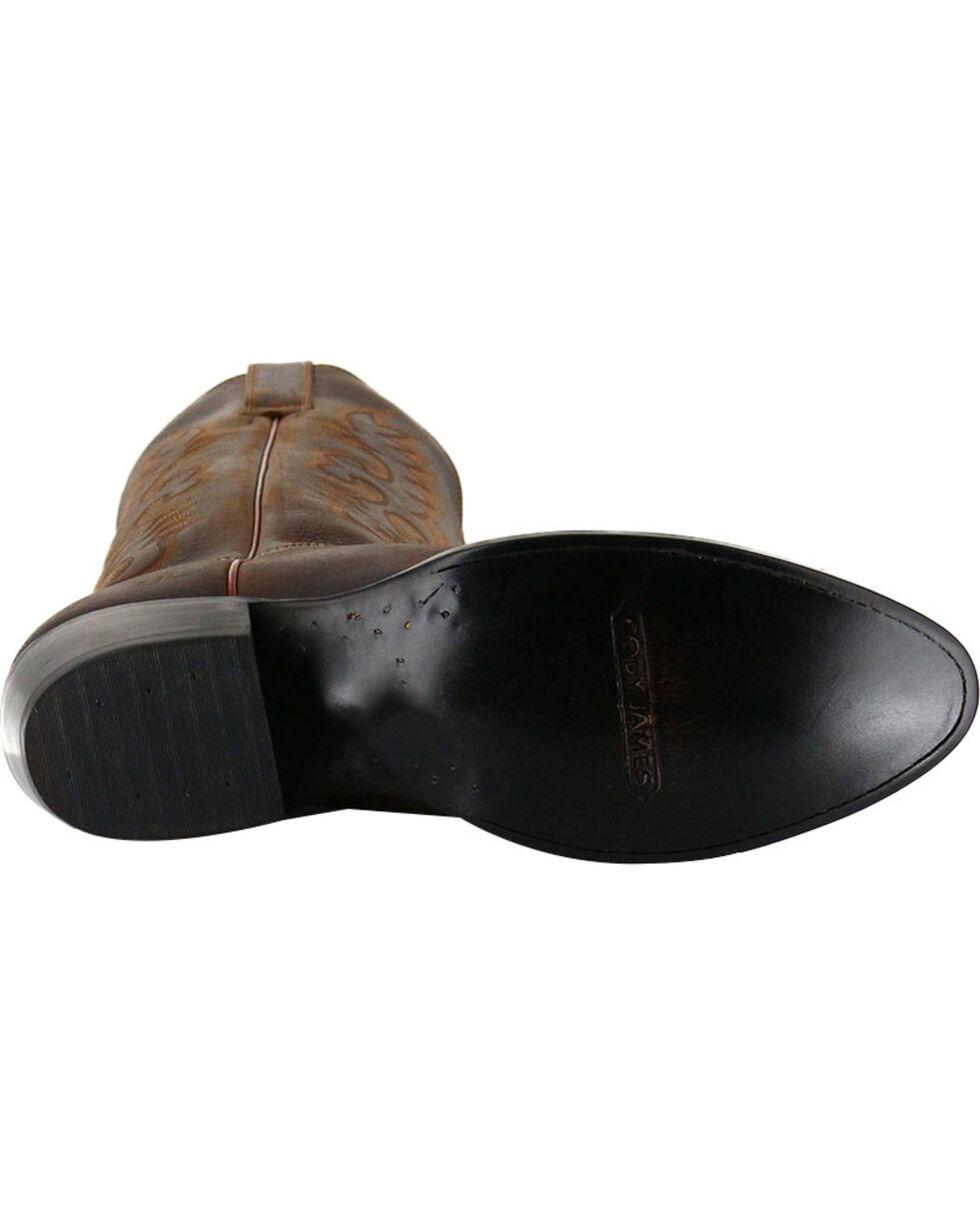 Cody James® Men's Classic Western Boots, Brown, hi-res