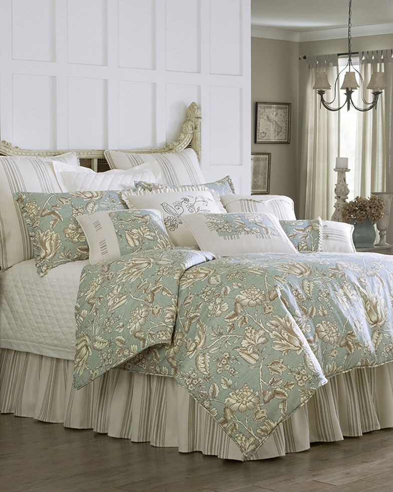HiEnd Accent Multi Gramercy Four Piece King Comforter Set , Multi, hi-res