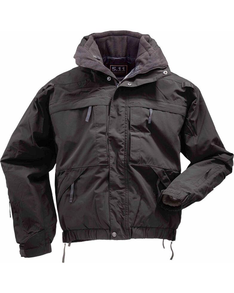 5.11 Tactical 5-in-1 Jacket - 3XL and 4XL, Black, hi-res
