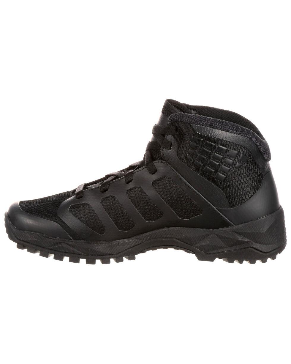 Rocky Men's Elements of Service Non-Metallic Duty Boots - Round Toe, Black, hi-res