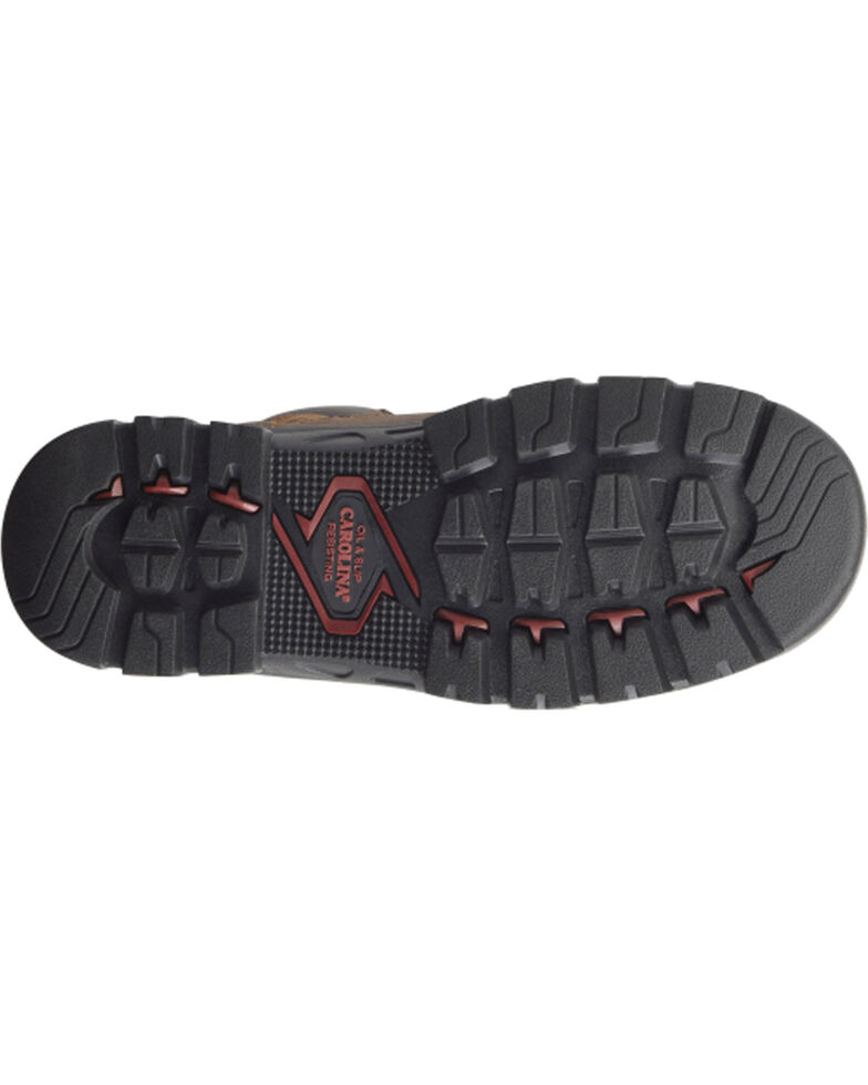 "Carolina Men's 6"" WP Composite Toe Work Boots, Dark Brown, hi-res"