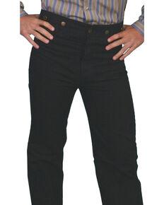 Scully Men's Canvas Pants, Black, hi-res
