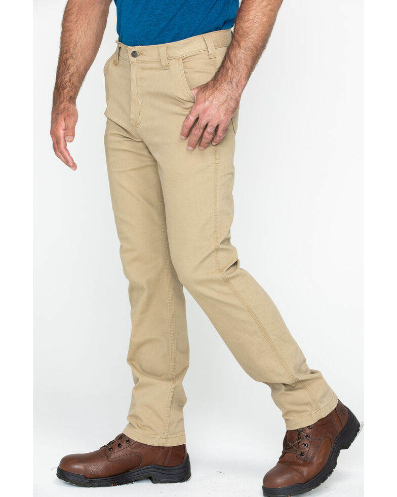 Carhartt Workwear Men's Rugged Flex Rigby Dungaree, Tan, hi-res