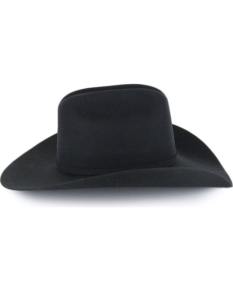"Cody James® Men's Denton 3X Low Cattleman 4"" Pro Rodeo Wool Hat, Black, hi-res"