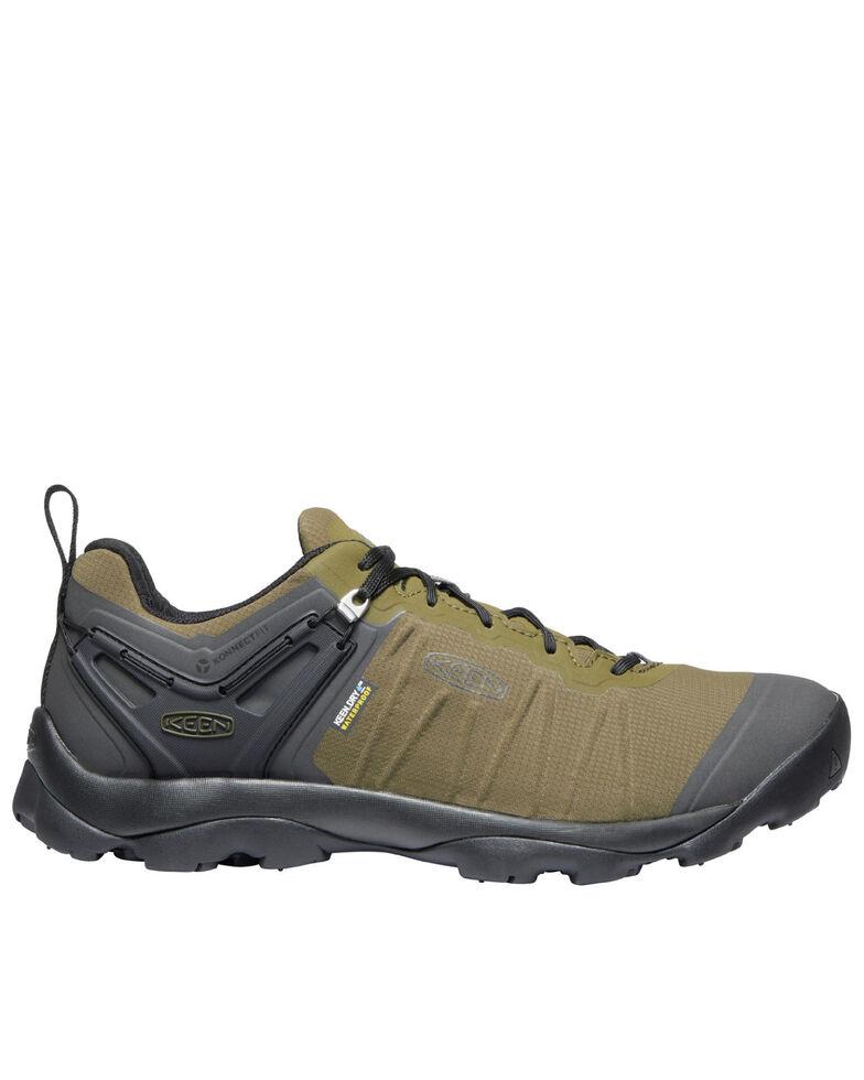 Keen Men's Venture Waterproof Hiking Boots - Soft Toe, Green, hi-res