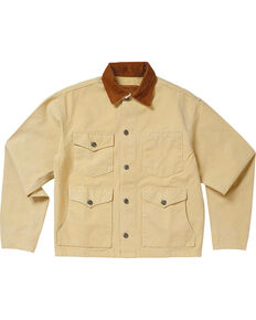 Schaefer Outfitter Men's Chamois Vintage Brush Jacket , Lt Brown, hi-res