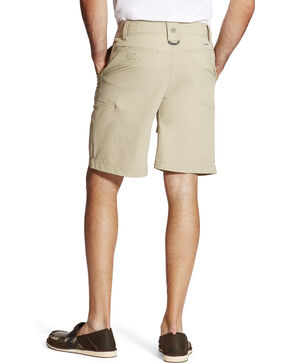 Ariat Men's Khaki Aluminum Heat Series Tek Airflow Shorts , Beige/khaki, hi-res