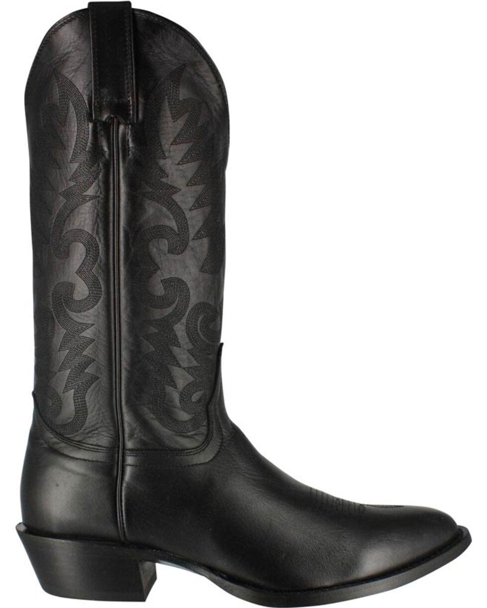 Cody James® Men's Narrow Round R Toe Western Boots, Black, hi-res