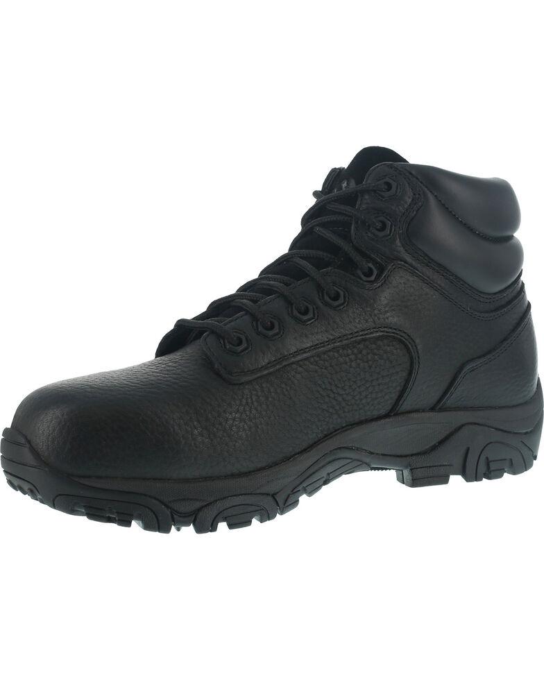 Iron Age Men's Trencher Non-Metallic Work Boots - Composite Toe , Black, hi-res