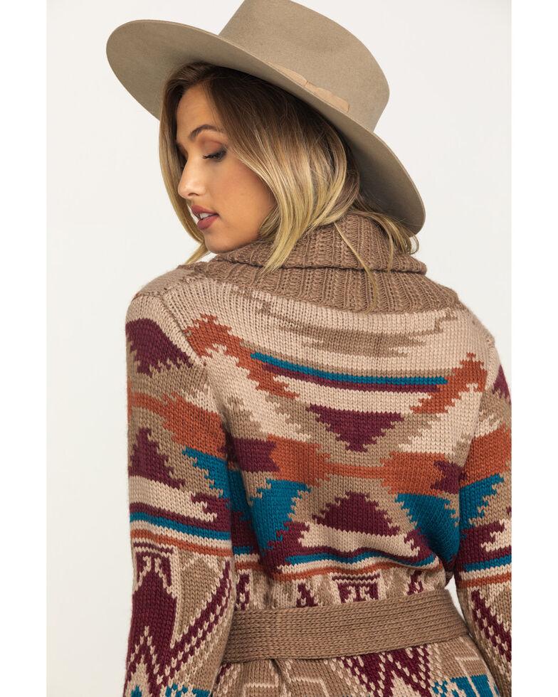 Stetson Women's Aztec Shawl Sweater , Multi, hi-res