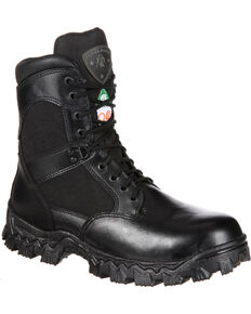 Rocky AlphaForce Waterproof Puncture Resistant Work Boots - Composite Toe, Black, hi-res
