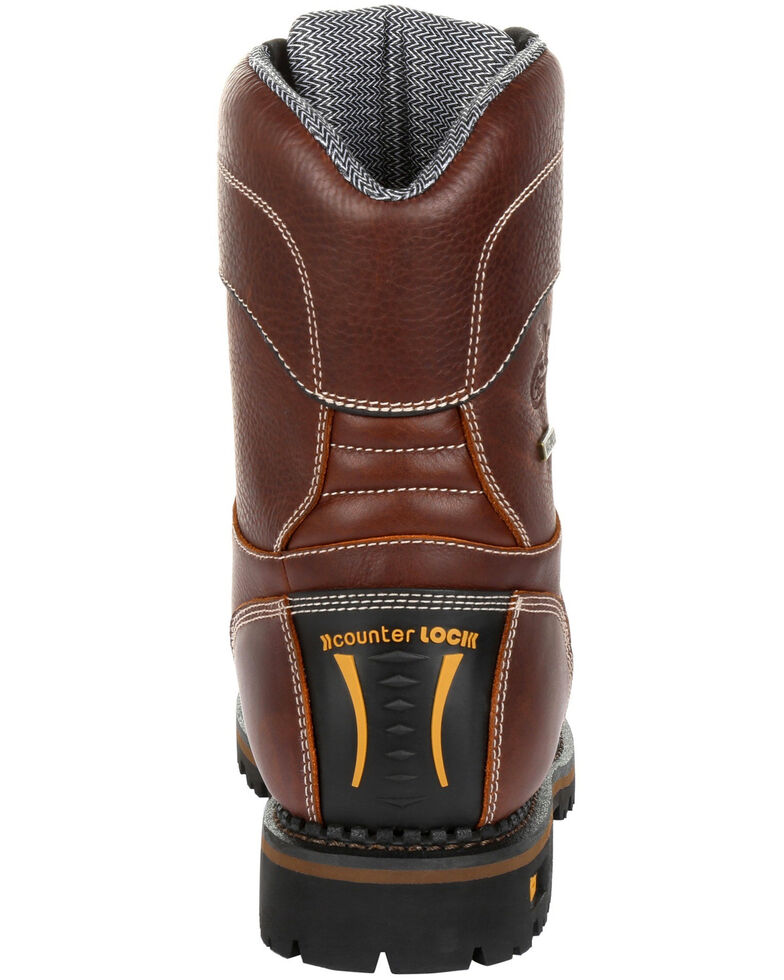 b0348698af0c Georgia Boot Men s AMP LT Waterproof Insulated Logger Boots - Round ...