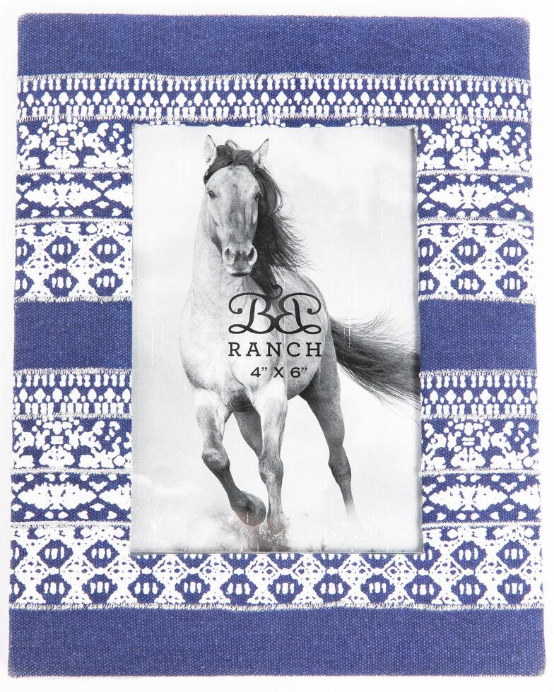 BB Ranch Indigo Picture Frame, Blue, hi-res